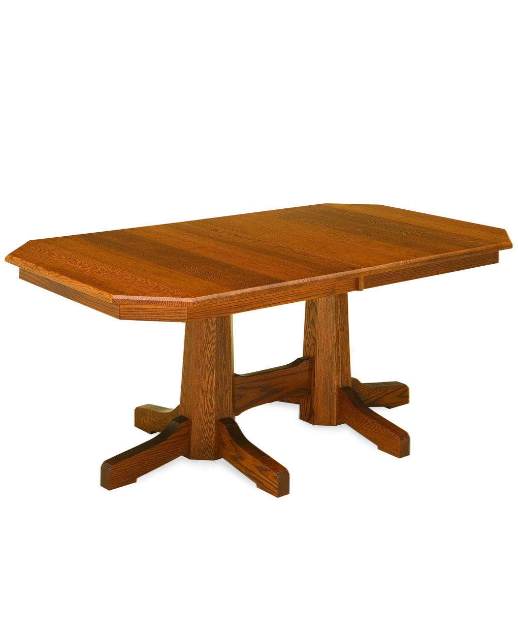 Pinnacle Mission Dining Table Amish Direct Furniture
