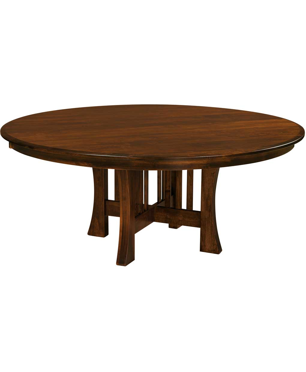arts and crafts dining table amish direct furniture. Black Bedroom Furniture Sets. Home Design Ideas