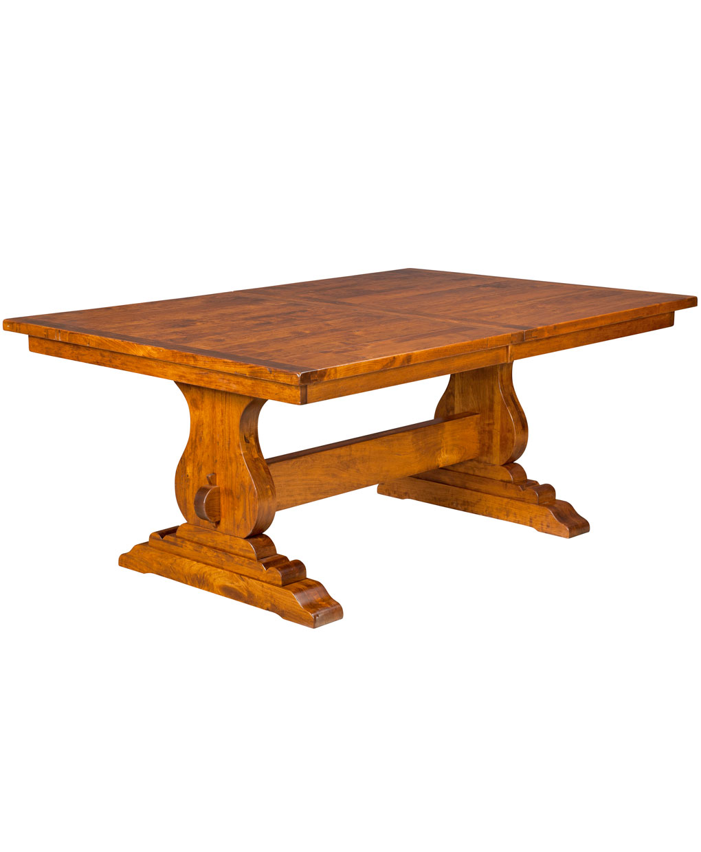 Austin trestle dining table amish direct furniture Trestle dining table