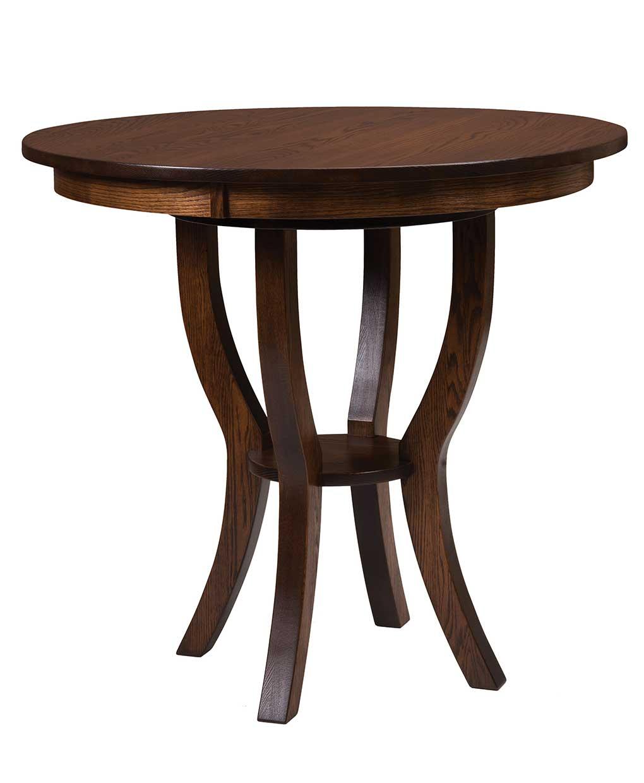 Dillon Bistro Table Amish Direct Furniture