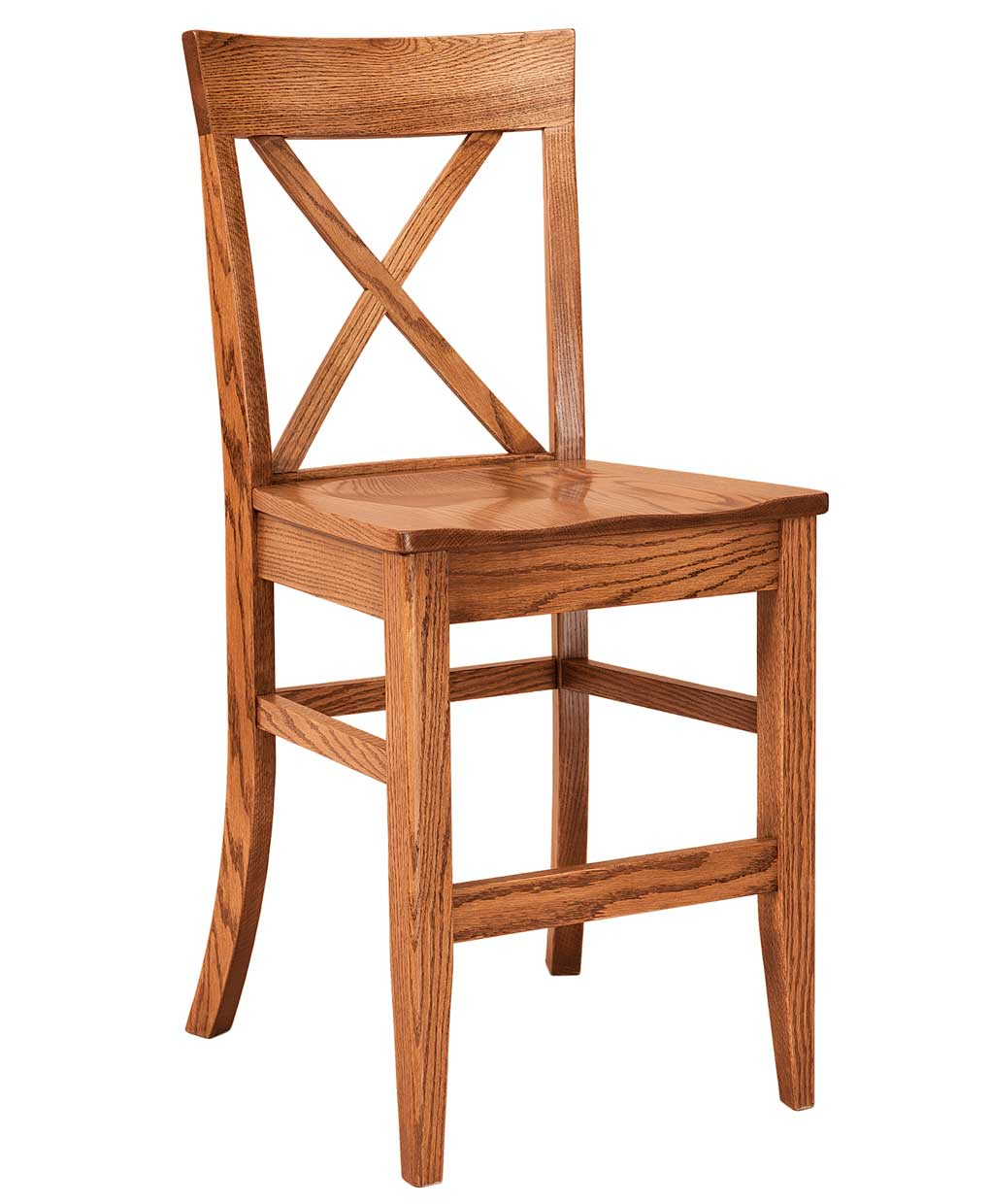 Frontier Bar Stool Amish Direct Furniture