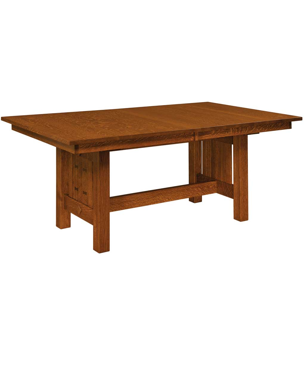 Trestle Table Amish Dining Room: Gettysburg Trestle Dining Table