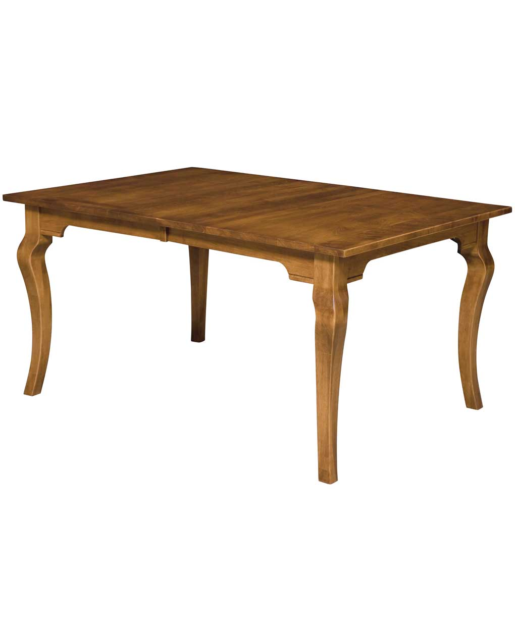 Granby dining table amish direct furniture for Single leg dining table