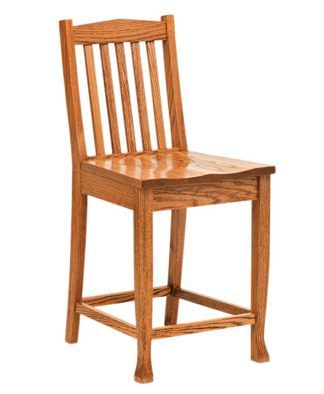Heritage Bar Stool Amish Direct Furniture