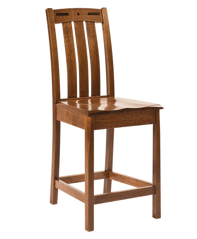 Lavega Bar Stool Amish Direct Furniture