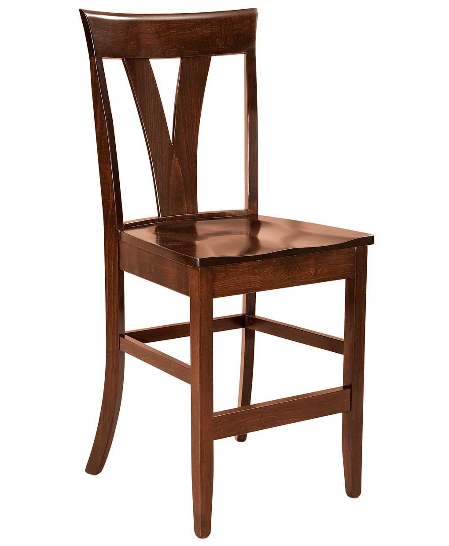 Levine Bar Stool Amish Direct Furniture