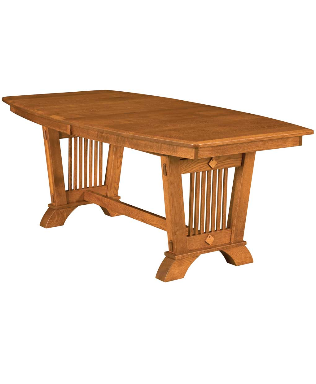 Liberty Mission Dining Table Amish Direct Furniture