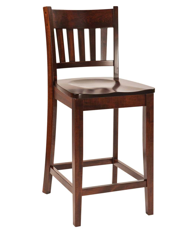 Marbury Bar Stool Amish Direct Furniture