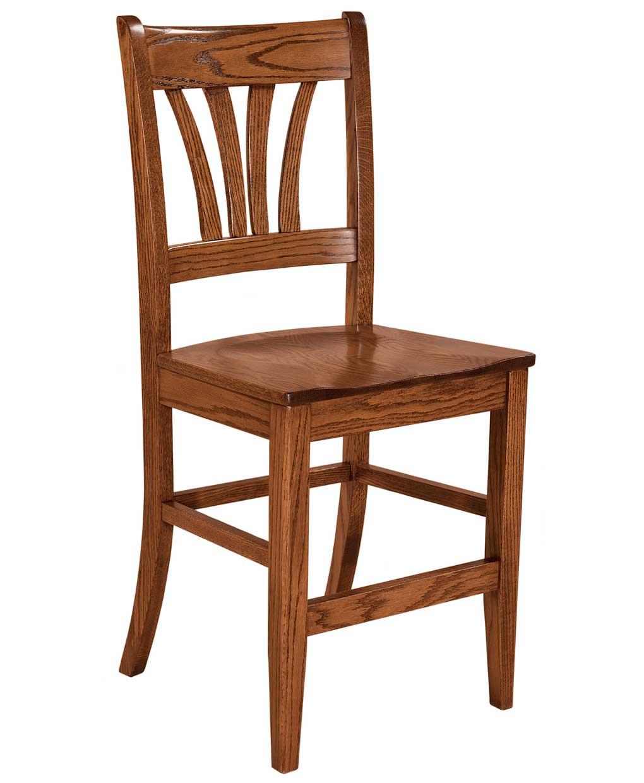 Mccohen Bar Stool Amish Direct Furniture