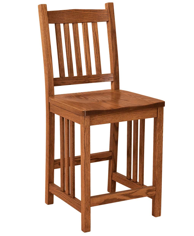 Mission Bar Stool Amish Direct Furniture