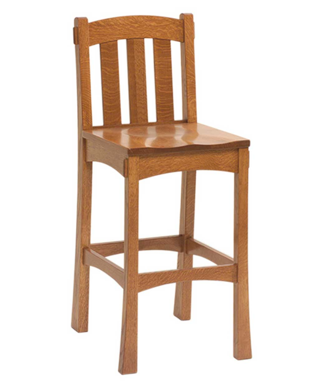 Modesto Bar Stool Amish Direct Furniture
