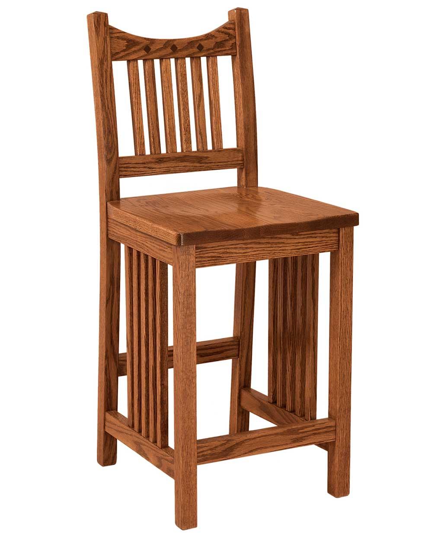 Royal Mission Bar Stool Amish Direct Furniture