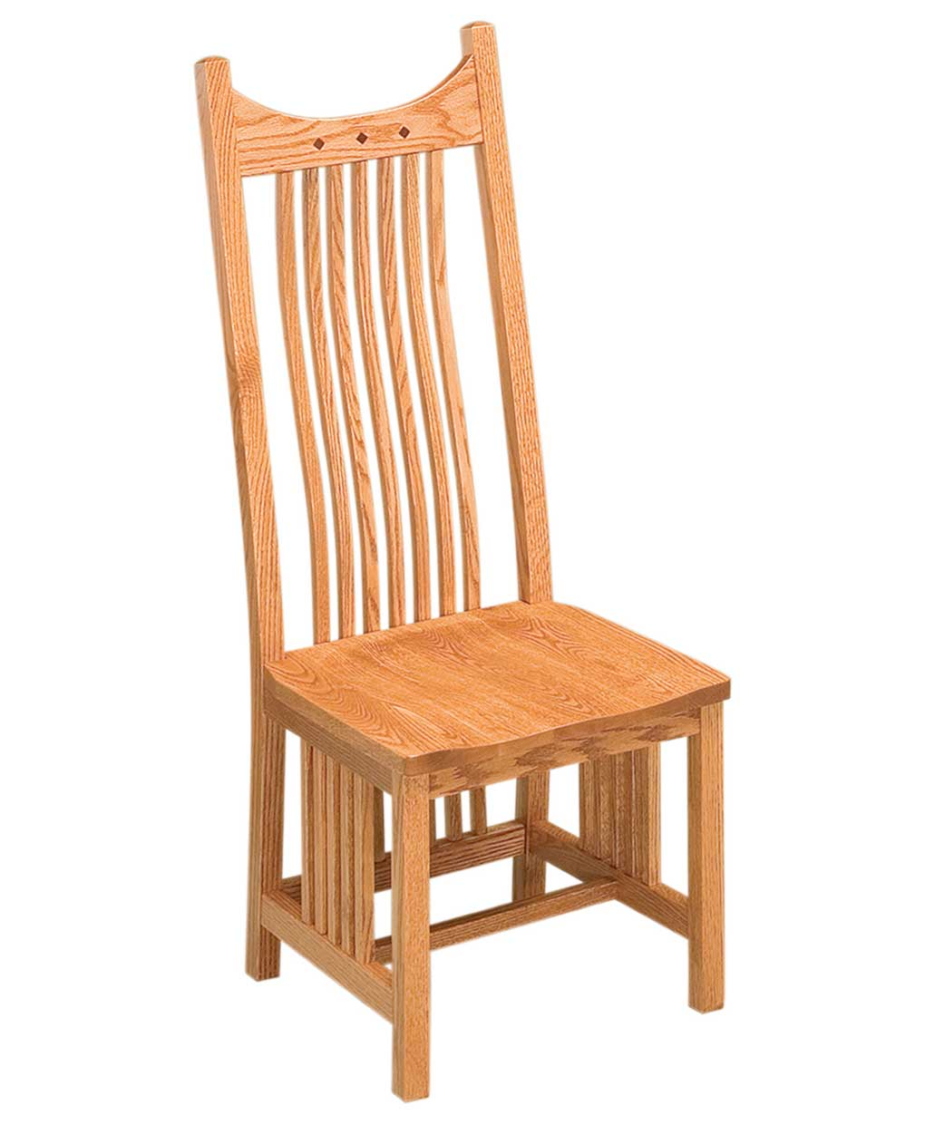 Poly Lumber Outdoor Furniture Royal Mission Dining Chair - Amish Direct Furniture