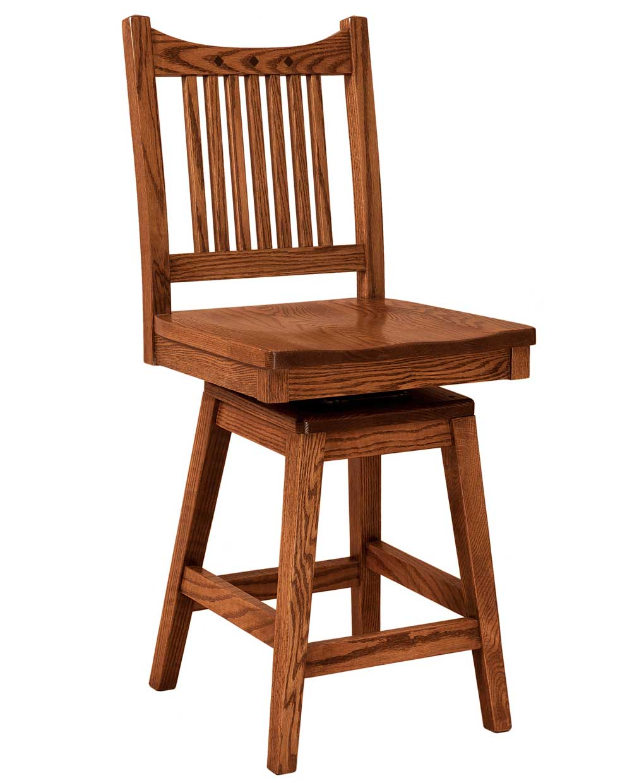 Royal Mission Bar Stool Amish Direct Furniture : RoyalMissionSwivelBS from amishdirectfurniture.com size 1020 x 1240 jpeg 73kB
