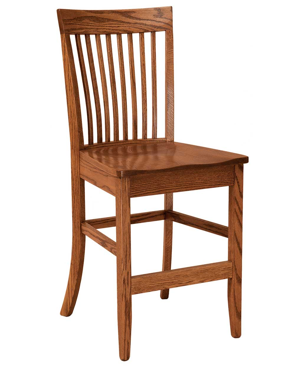 Shelby Bar Stool Amish Direct Furniture