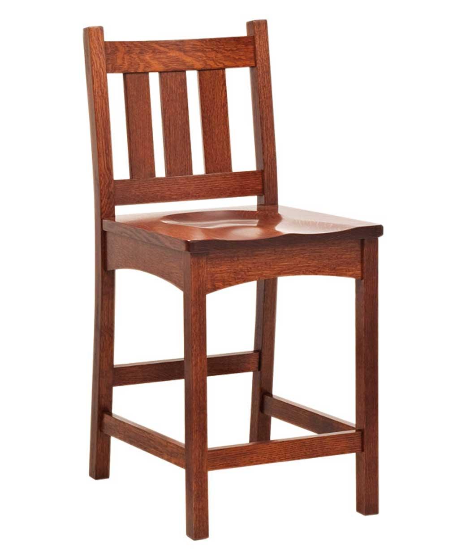 Vintage Mission Bar Stool Amish Direct Furniture