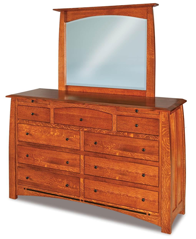 boulder creek 9 drawer dresser with jewelry drawers