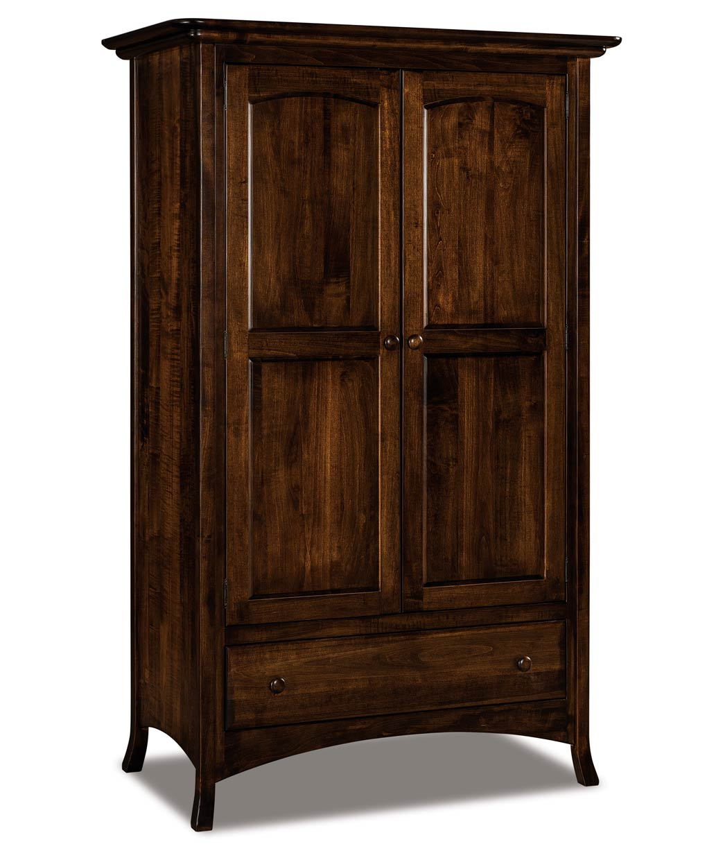 carlisle wardrobe armoire amish direct furniture. Black Bedroom Furniture Sets. Home Design Ideas