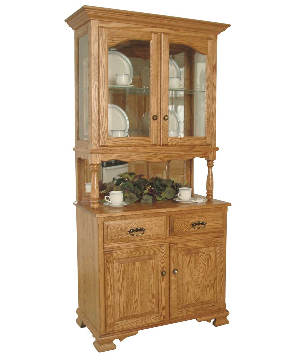 Country Post Hutch Amish Direct Furniture