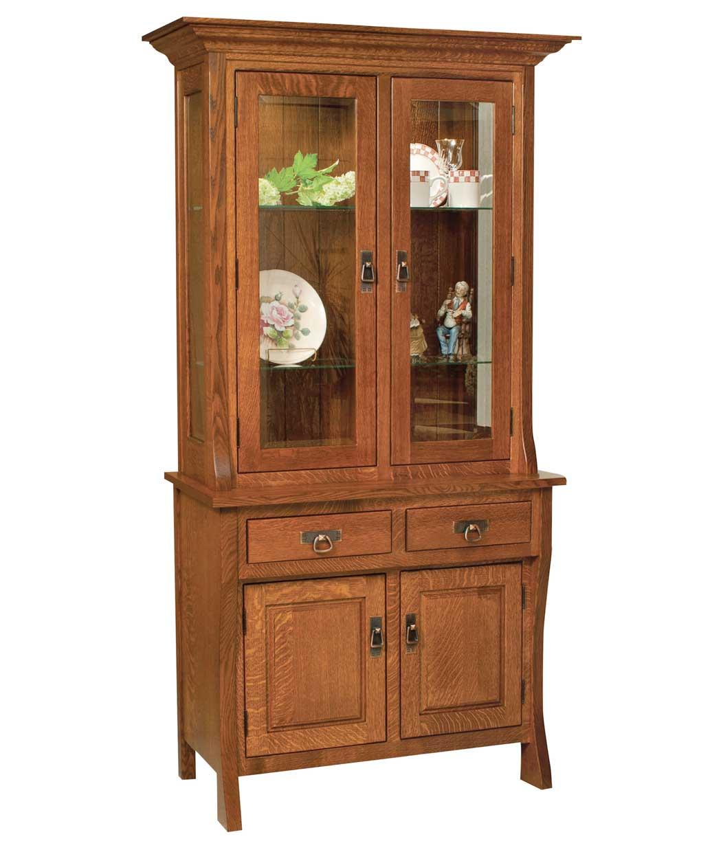Custer Hutch Amish Direct Furniture