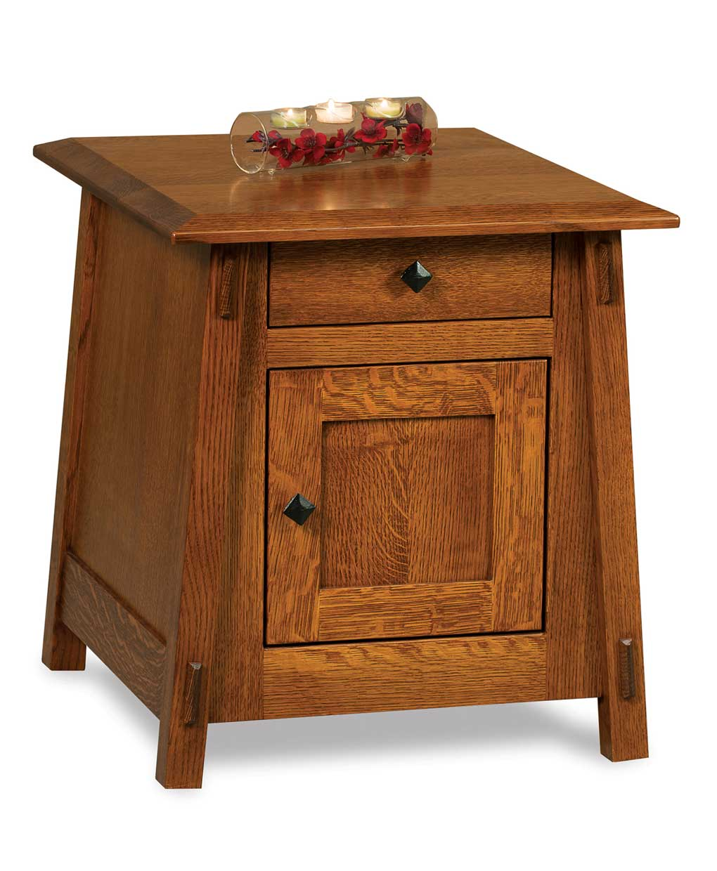 Colbran Enclosed End Table Amish Direct Furniture