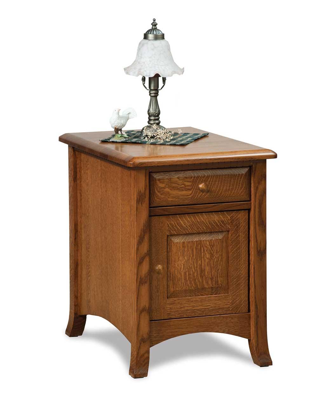 Carlisle Enclosed End Table Amish Direct Furniture