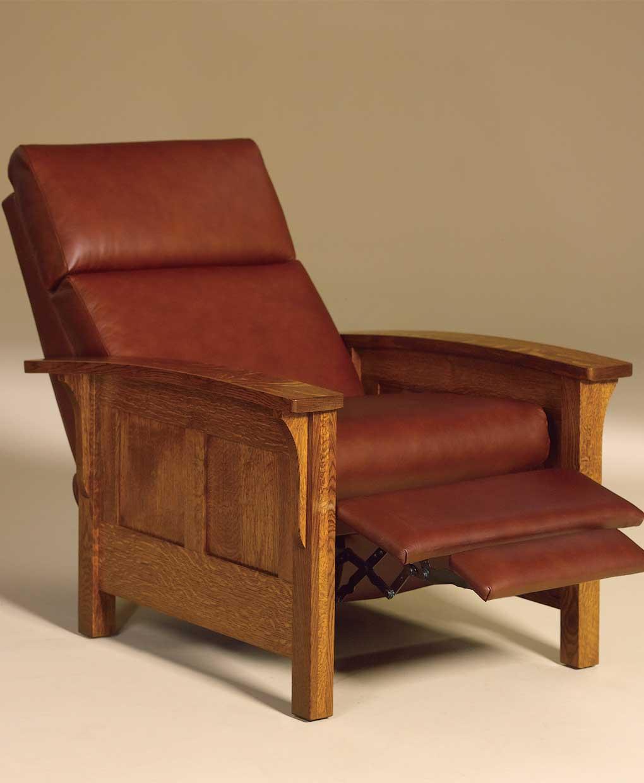 Heartland Panel Recliner Amish Direct Furniture