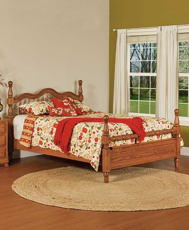 Hoosier Heritage Bed Amish Direct Furniture