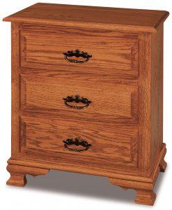 Hoosier Heritage Taller Bedside Nightstand
