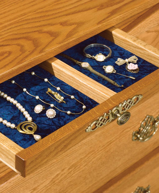 Boulder Creek 9 Drawer Dresser with Jewelry Drawers ...