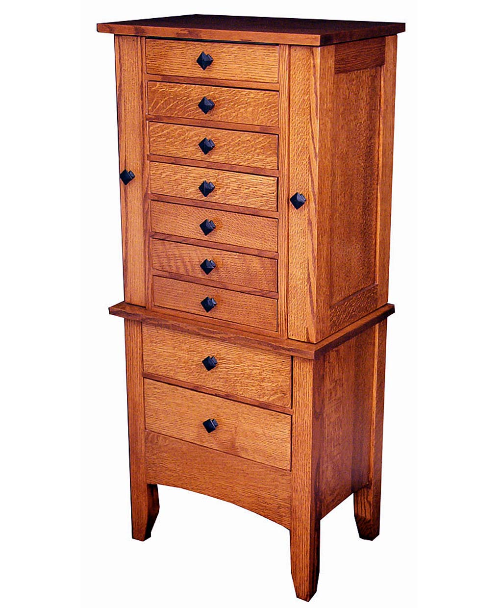 Jewelry Mission Armoire Amish Direct Furniture