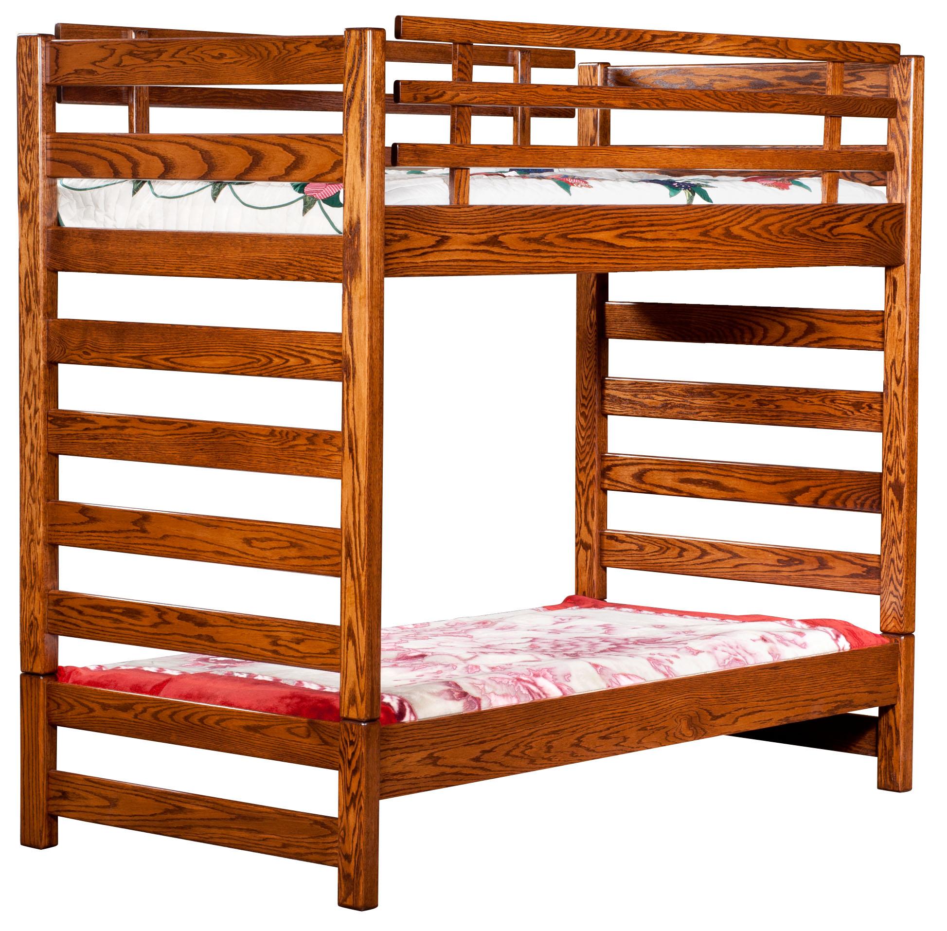 Ladder Loft Bunk Bed Amish Direct Furniture