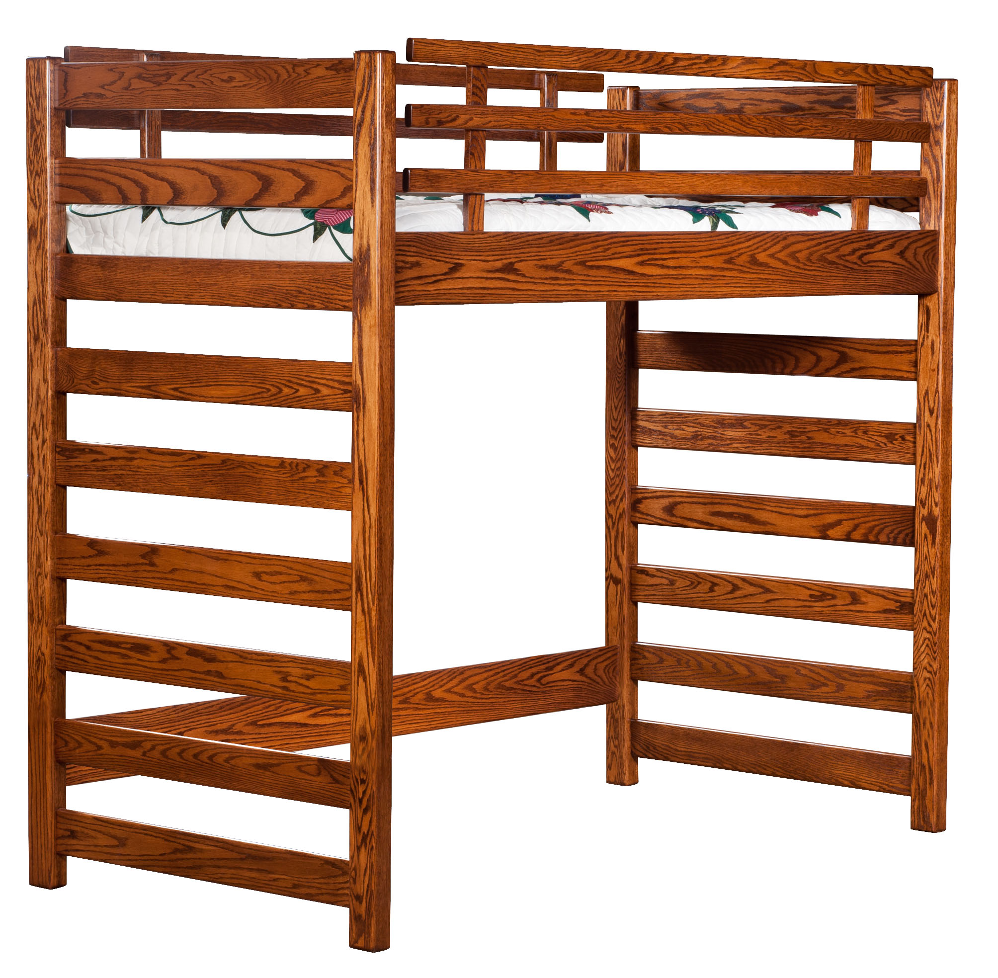 Ladder Loft Bunk Bed Amish Direct Furniture