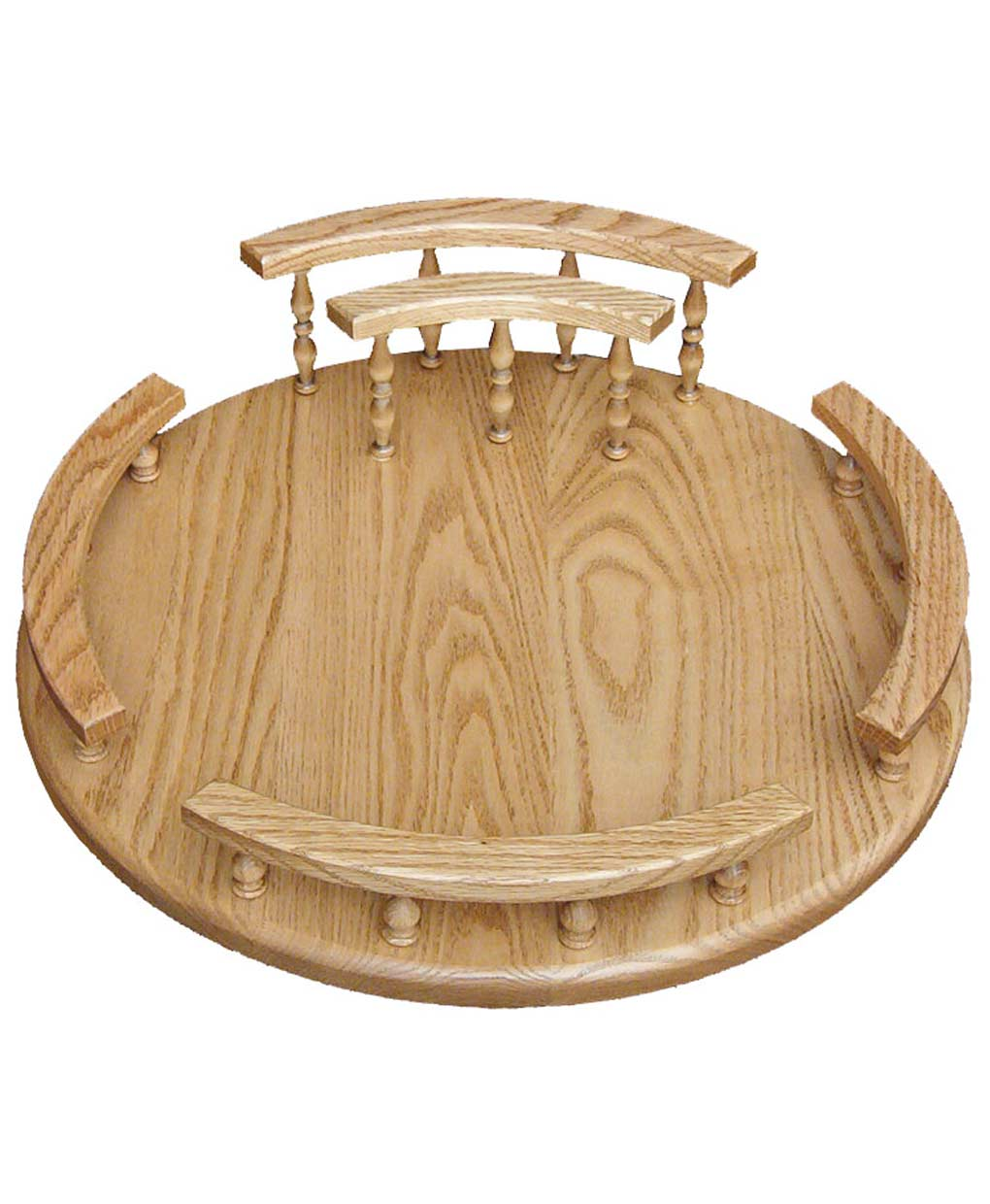 Lazy Susan With Napkin Holder Amish Direct Furniture