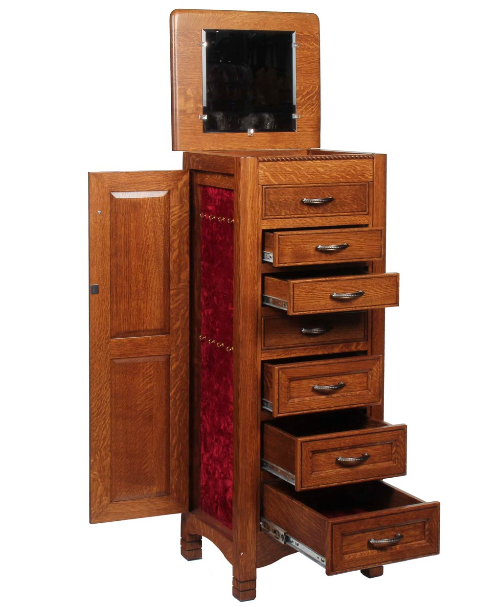 West Lake Jewelry Armoire - Amish Direct Furniture