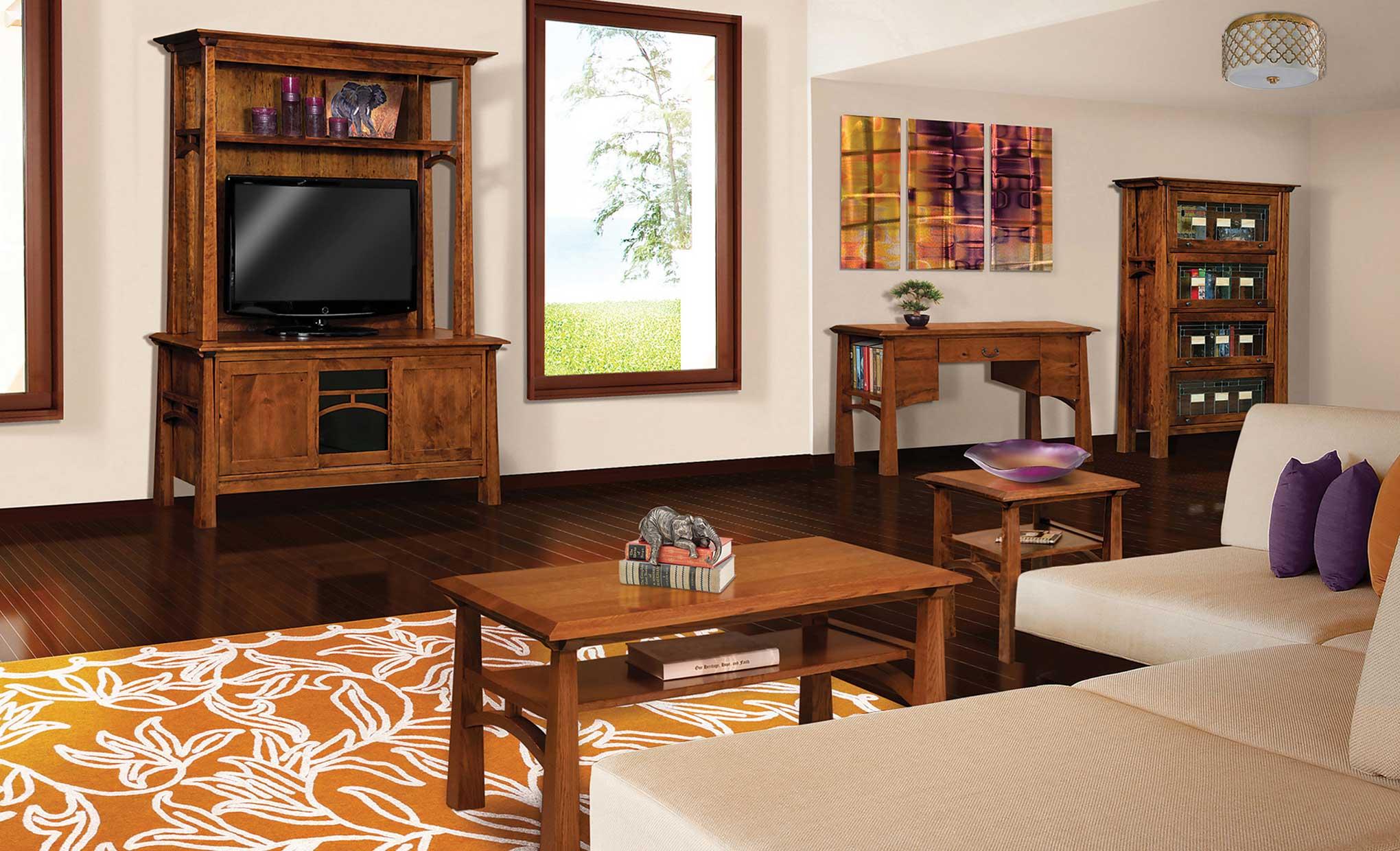 Living Room Media Furniture Artesa Media Cabinet Amish Direct Furniture