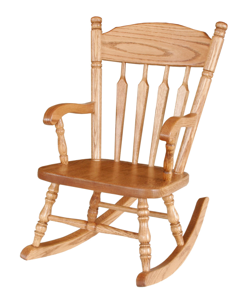 Child 39 s plain rocker amish direct furniture for Child on chair