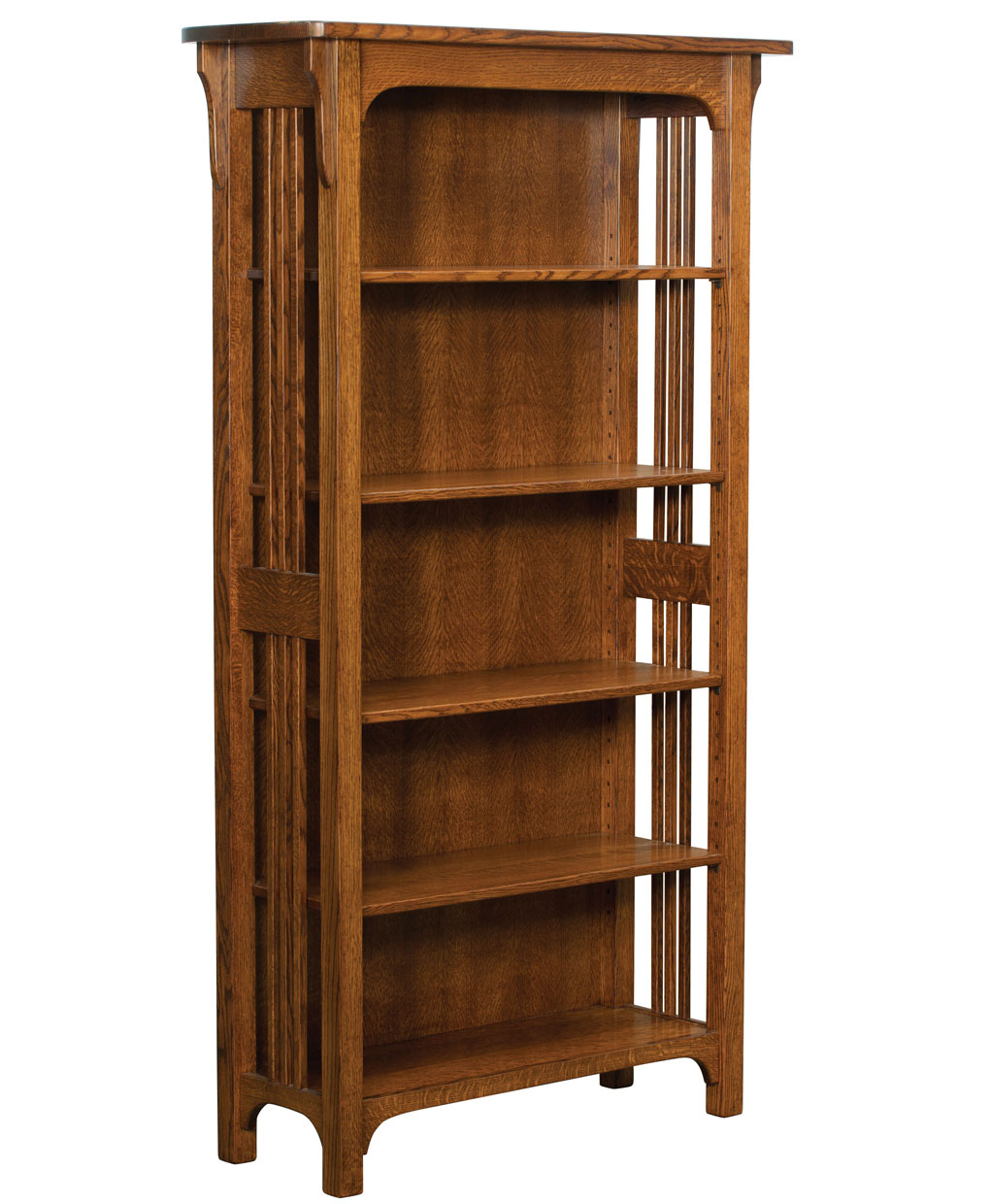 Craftsman Mission Bookcase Amish Direct Furniture