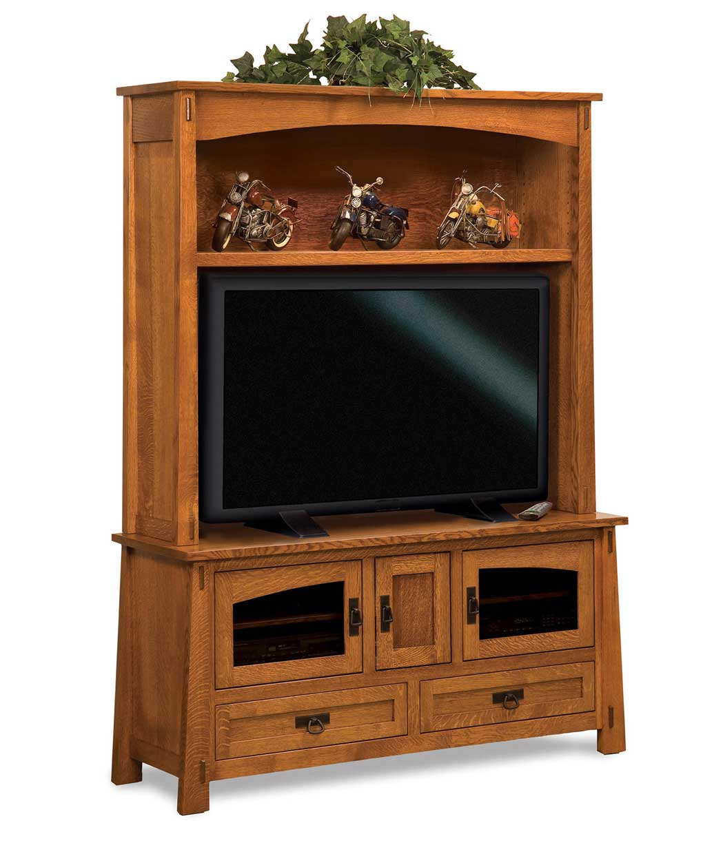 Modesto media tv entertainment center amish direct furniture for Tv furniture