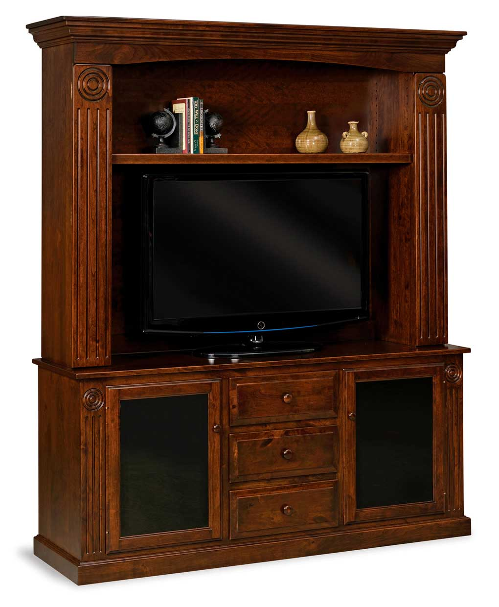 Victorian Media Tv Home Theater Center Amish Direct