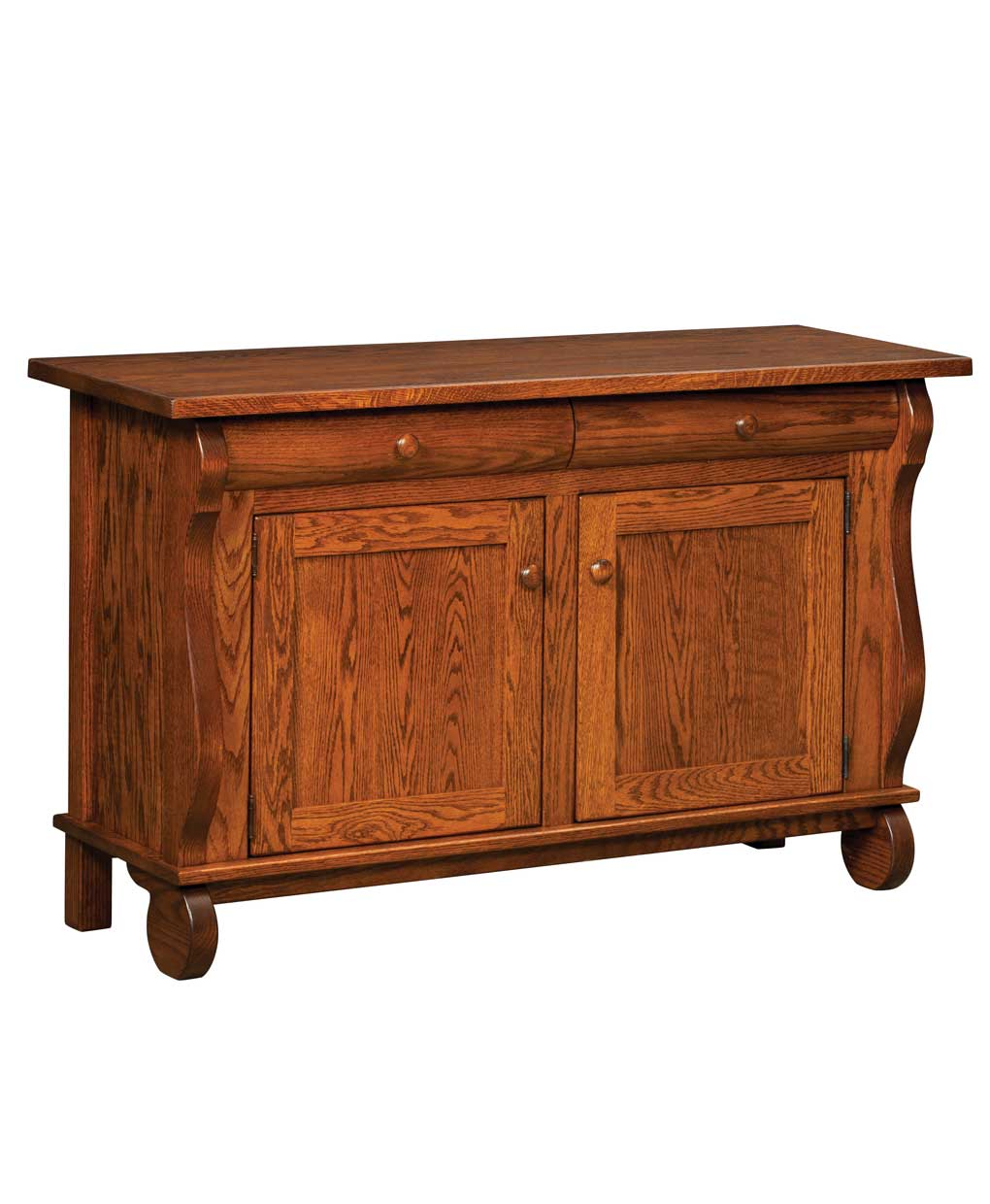 Hampton cabinet sofa table amish direct furniture - Sofa table with cabinets ...