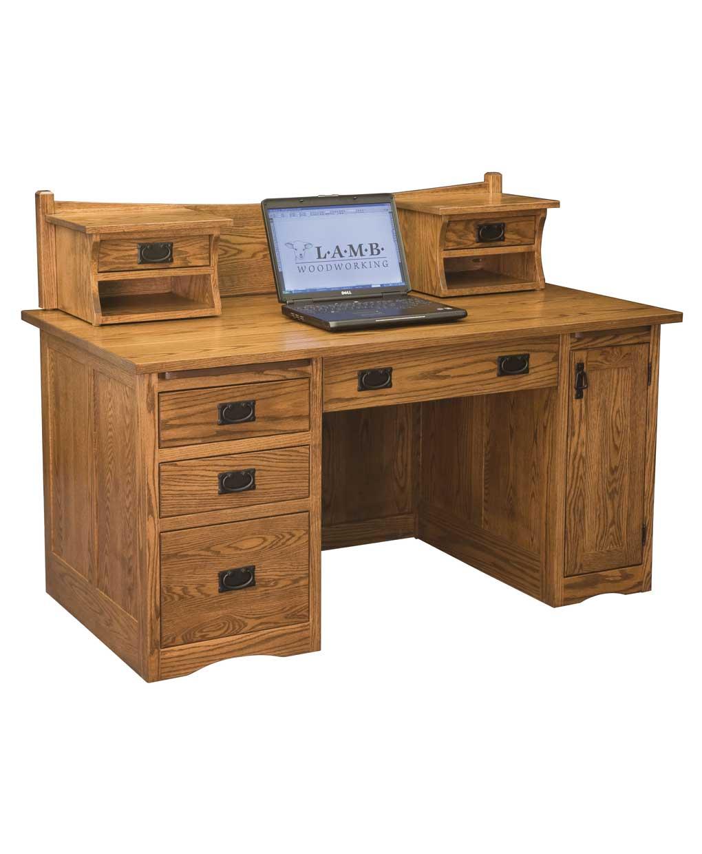 Mission Computer Desk 001 Amish Direct Furniture