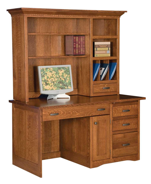 Mission Computer Desk 100 Amish Direct Furniture : LA 100 from amishdirectfurniture.com size 1020 x 1240 jpeg 94kB