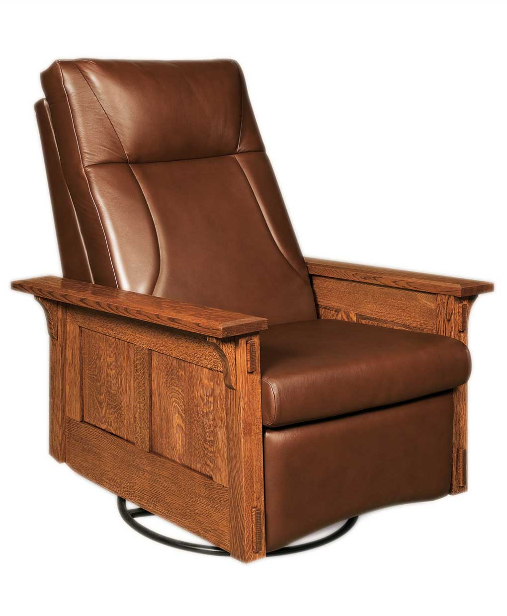 Mccoy Rocker Recliner Swivel Amish Direct Furniture