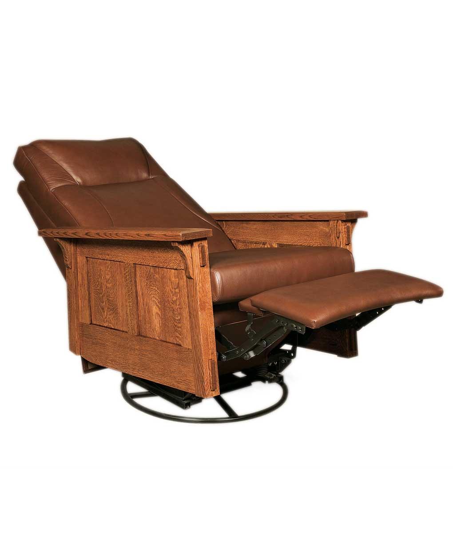 Mccoy Rocker Recliner Swivel Amish Direct Furniture