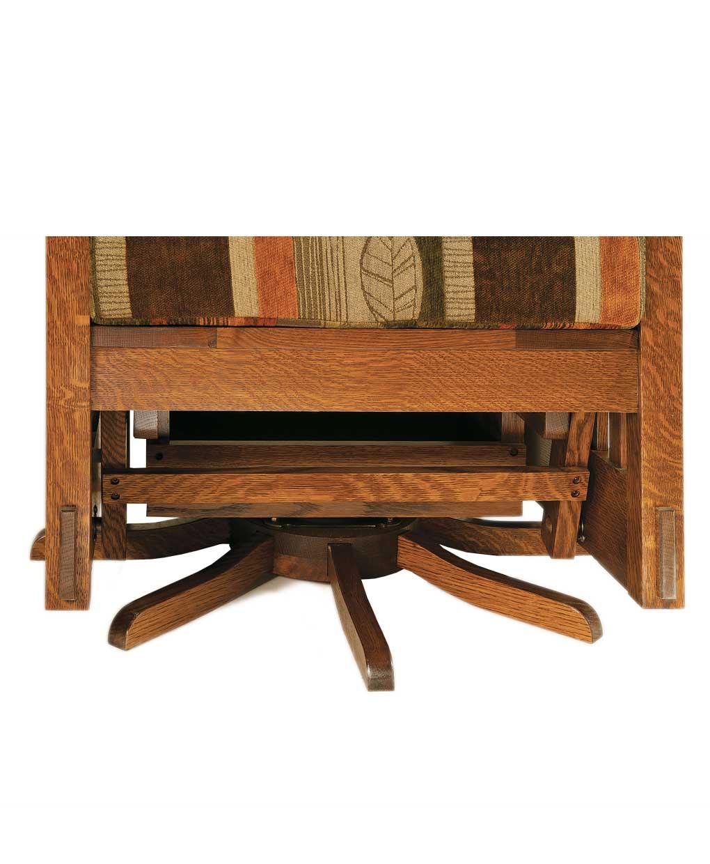 Mccoy Glider Swivel Amish Direct Furniture
