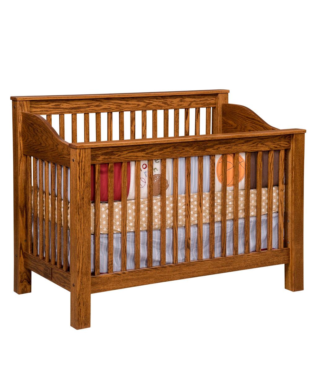 Manhattan Conversion Crib Amish Direct Furniture