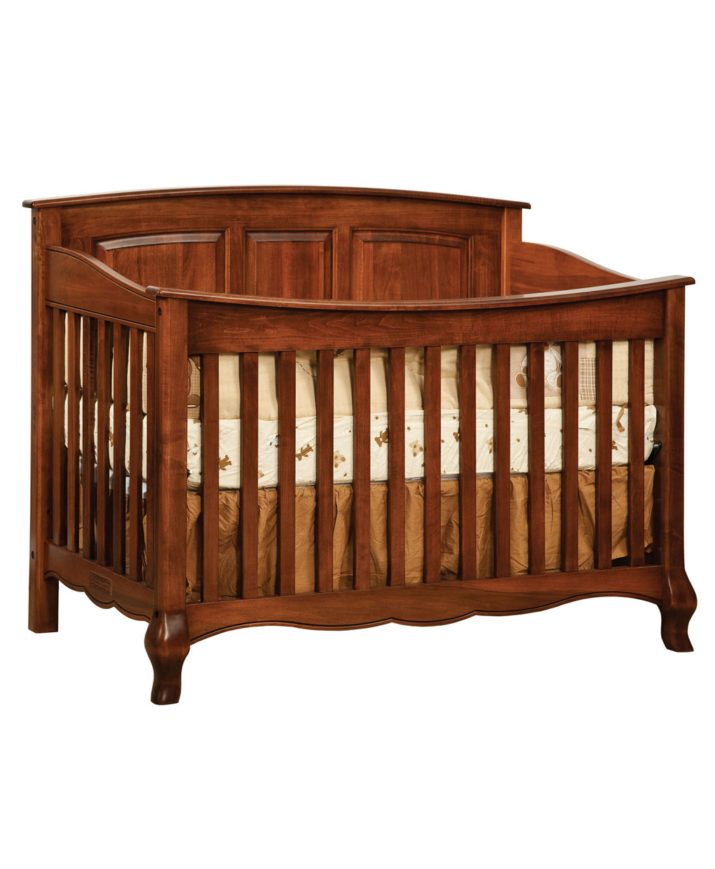 French Country Conversion Crib Amish Direct Furniture