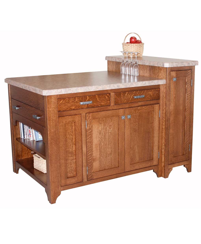 Amish Furniture Kitchen Island Space Saver Kitchen Island Amish Direct Furniture