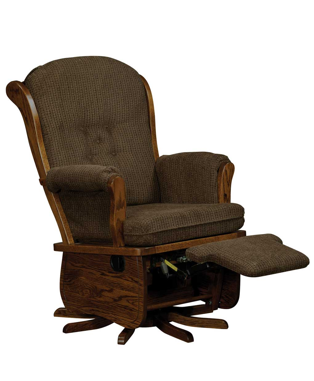 Swanback Swivel Glider - Amish Direct Furniture
